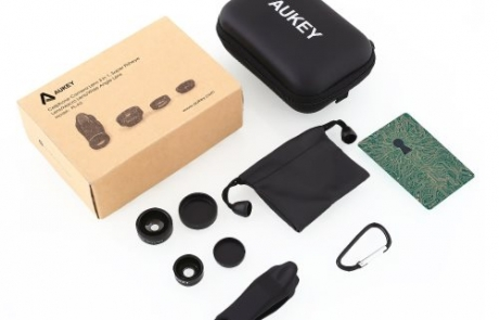 AUKEY Optic Pro 3-in-1 Smartphone Lens Set Review | Home Tech Scoop
