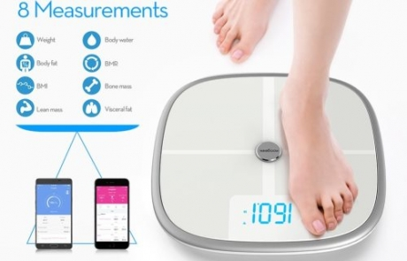 Koogeek Bluetooth & WiFi Smart Health Scale Review | Home Tech Scoop