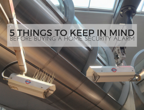 5 Things to Keep in Mind Before Buying a Home Security Alarm