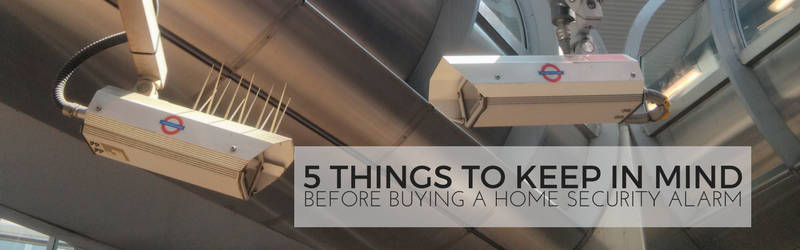 5 Things to Keep in Mind Before Buying a Home Security Alarm | Guest Post