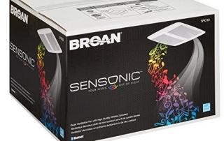 Broan SPK110 Sensonic Speaker Fan Review | Bathroom Technology | Home Tech Scoop