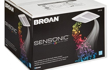 Broan SPK110 Sensonic Speaker Fan Review | Bathroom Technology | Home Tech Scoop