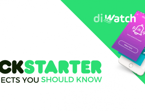 Kickstarter Projects You Should Know: diWatch
