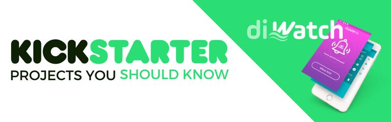 diWatch on Kickstarter   Home Tech Scoop