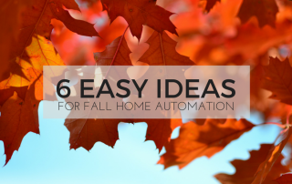 Easy Home Automation Ideas for Fall | Guest Post